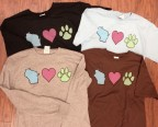 Wisconsin Loves Pets t-shirts for Wisconsin Humane Society
